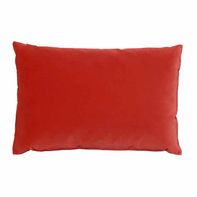 Image of   Semibasic LUSH Velour Cushion Coral 40 x 60