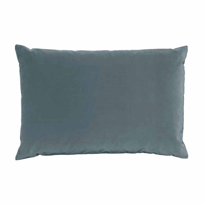 Image of   Semibasic LUSH Velour Cushion Denim Blue 40 x 60