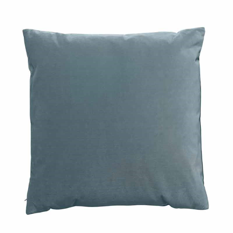 Image of   Semibasic LUSH Velour Cushion Denim Blue 45 x 45