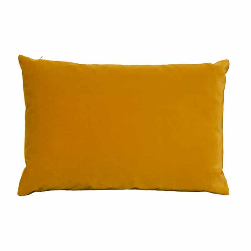 Image of   Semibasic LUSH Velour Cushion Ochre 40 x 60