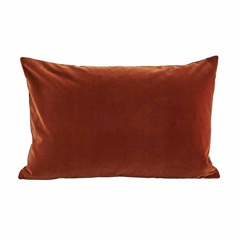 Image of   Semibasic LUSH Velour Cushion Amber 40 x 60