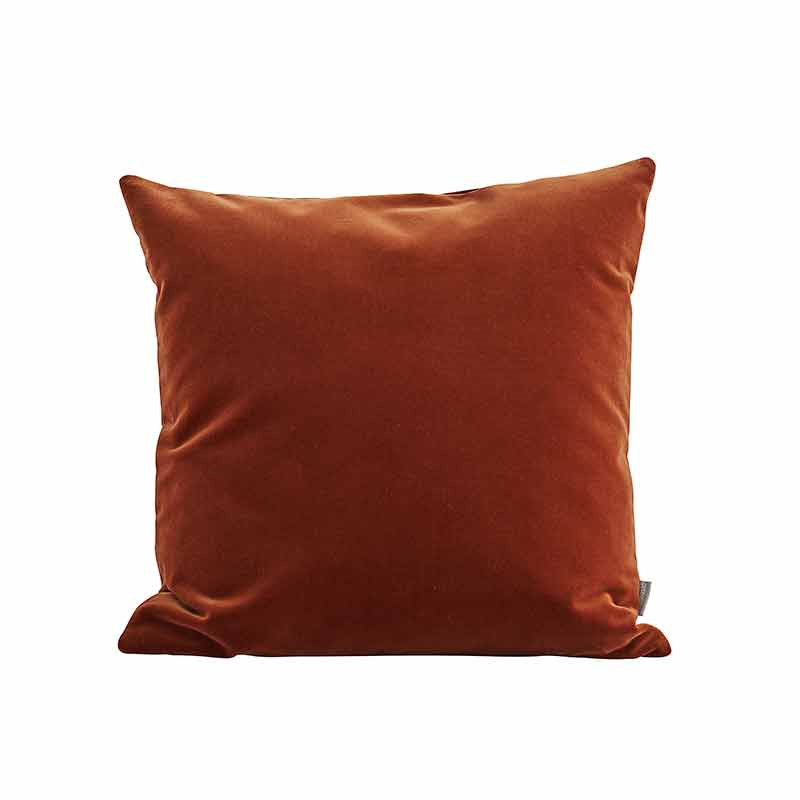 Image of   Semibasic LUSH Velour Cushion Amber 45 x 45