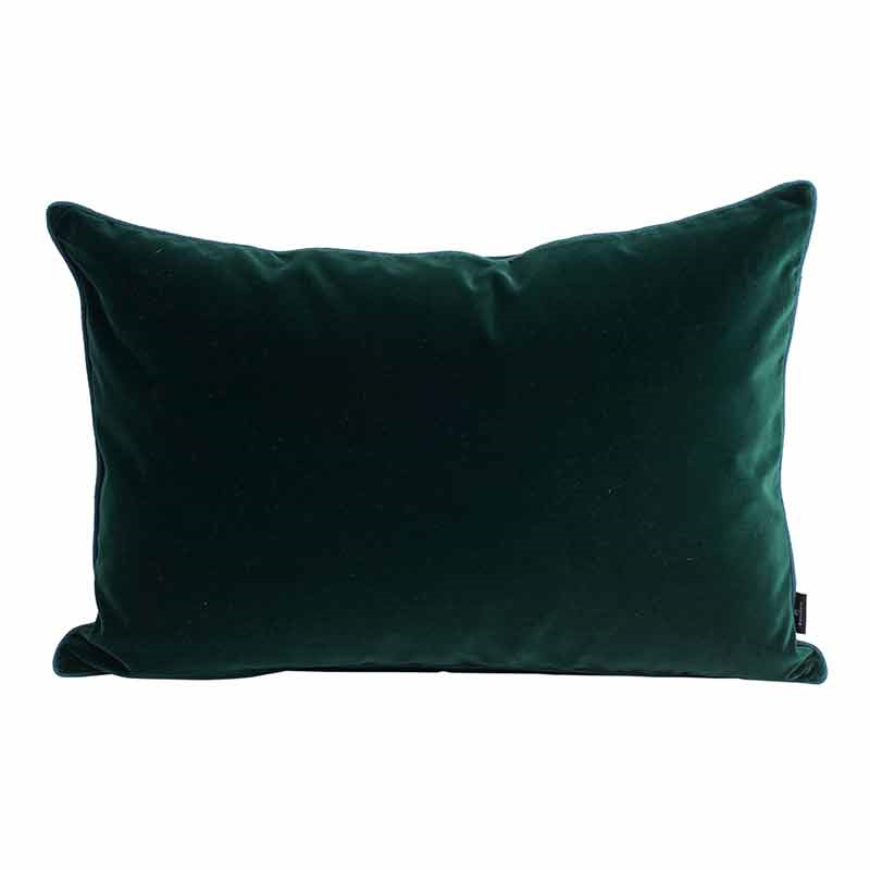 Image of   Semibasic LUSH Velour Cushion Green 40 x 60