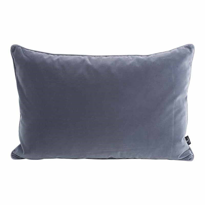 Image of   Semibasic LUSH Velour Cushion Dark Grey 40 x 60