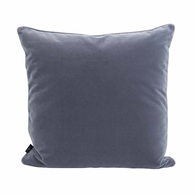 Image of   Semibasic LUSH Velour Cushion Dark Grey 45 x 45