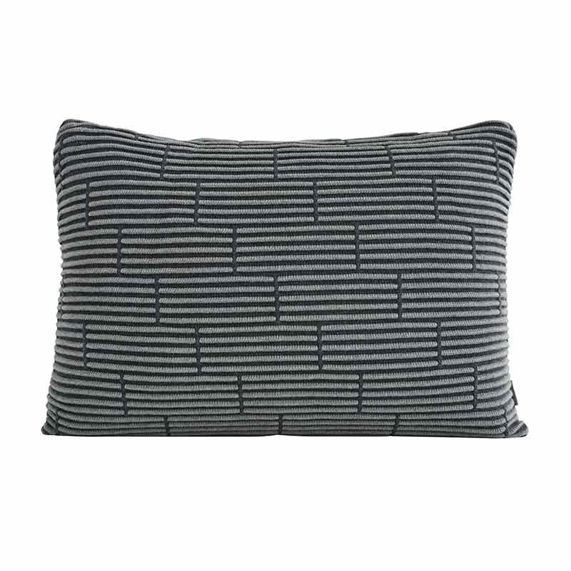 Image of   Semibasic STILL Wall Cushion Grey Brick 40 x 60