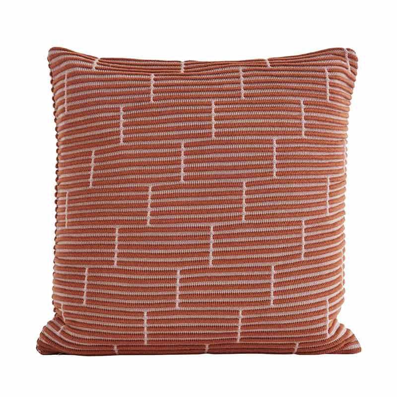 Image of   Semibasic STILL Wall Cushion Amber Brick 50 x 50