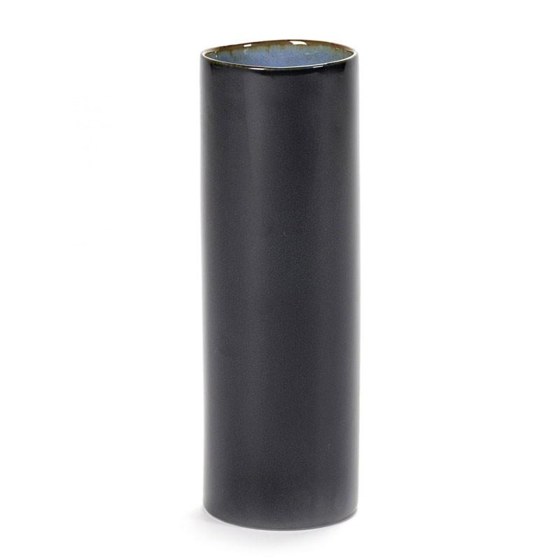 Image of   Serax Anita Tube Vase Dark Blue