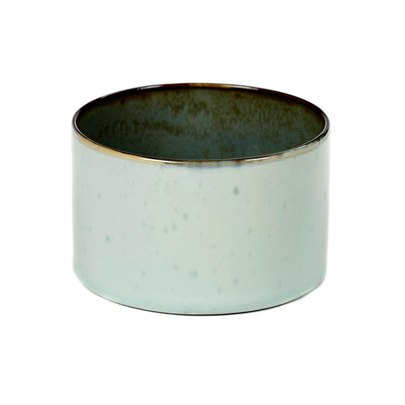 Image of   Serax Goblet Cylinder Low Light Blue/Smokey Blue