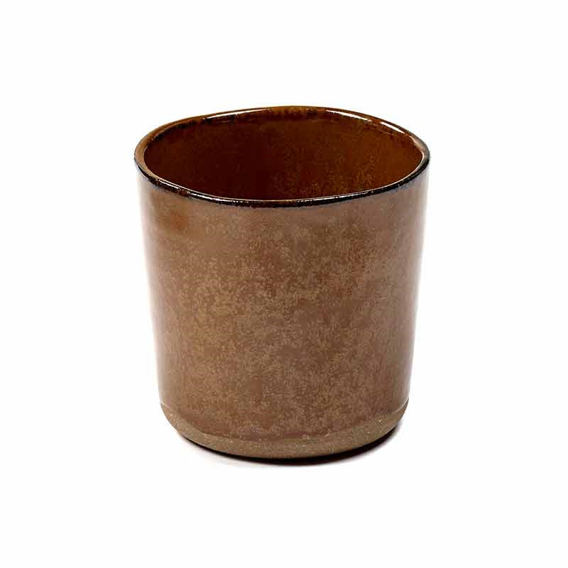 Image of   Serax Merci Cup No. 9 Ocre/Brown