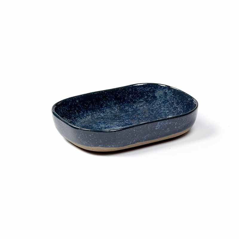 Image of   Serax Merci Deep Plate No. 7 M Blue/Grey