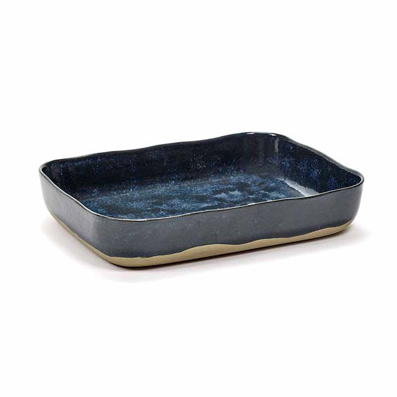 Image of   Serax Merci Oven Dish No. 10 Blue/Grey