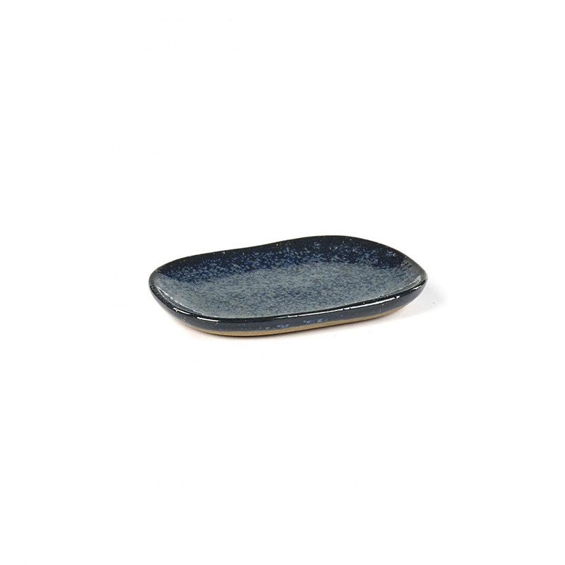 Image of   Serax Merci Rectangular Plate No. 4 S Blue/Grey