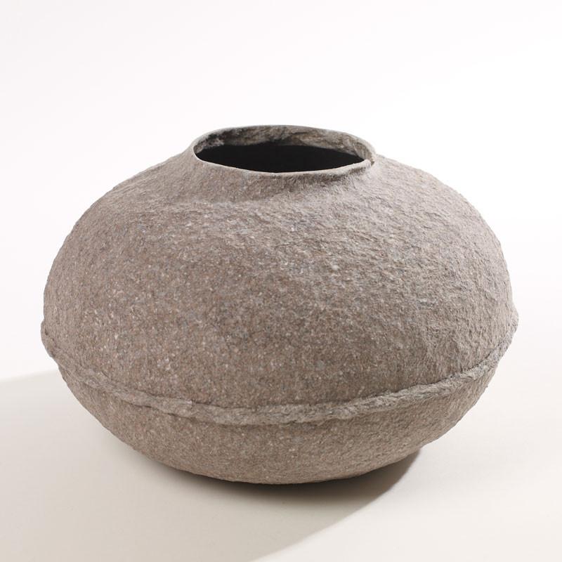 Serax Serax paperpulp low vase fra livingshop