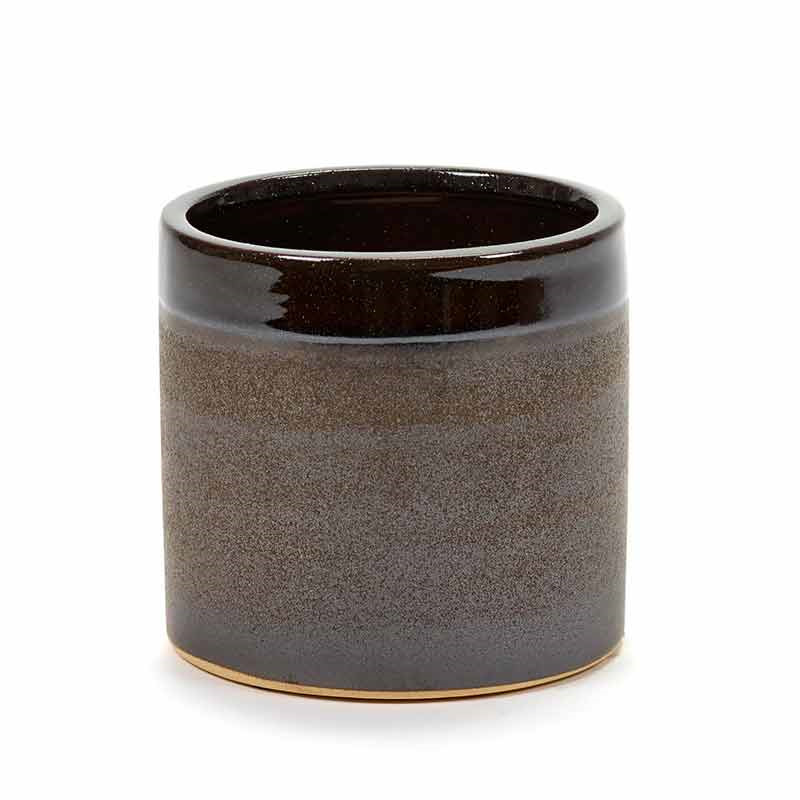 Image of   Serax Pot Brown Glaze M