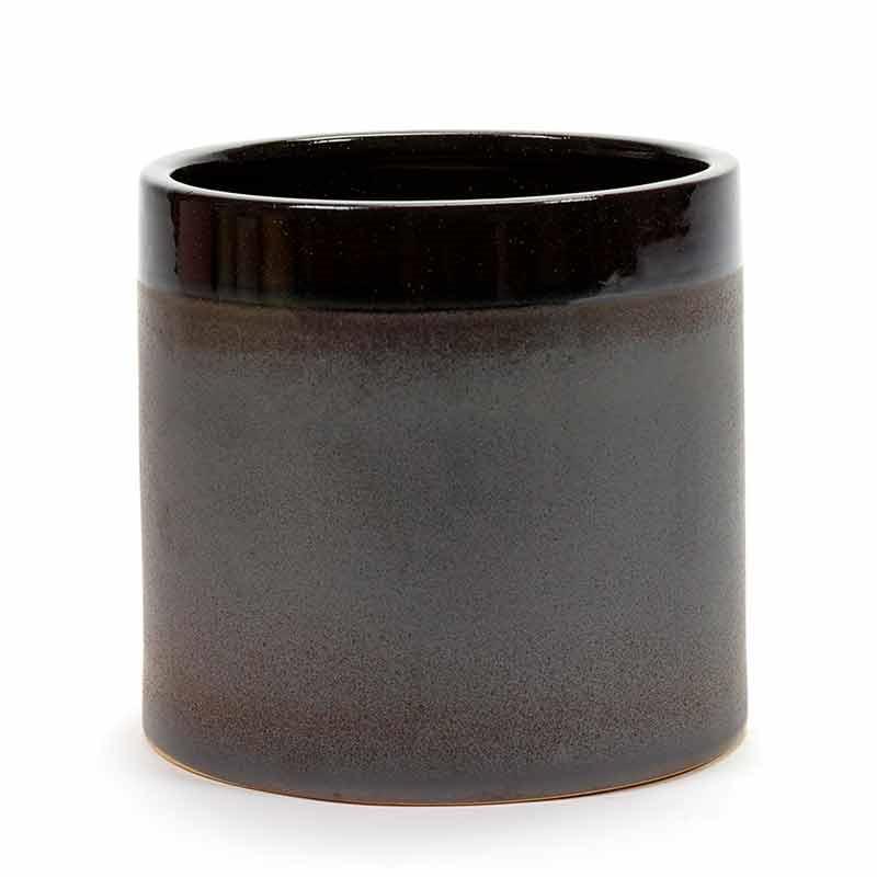 Image of   Serax Pot Brown Glaze XL
