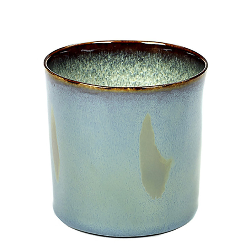 Image of   Serax Goblet Cylinder High Smokey Blue