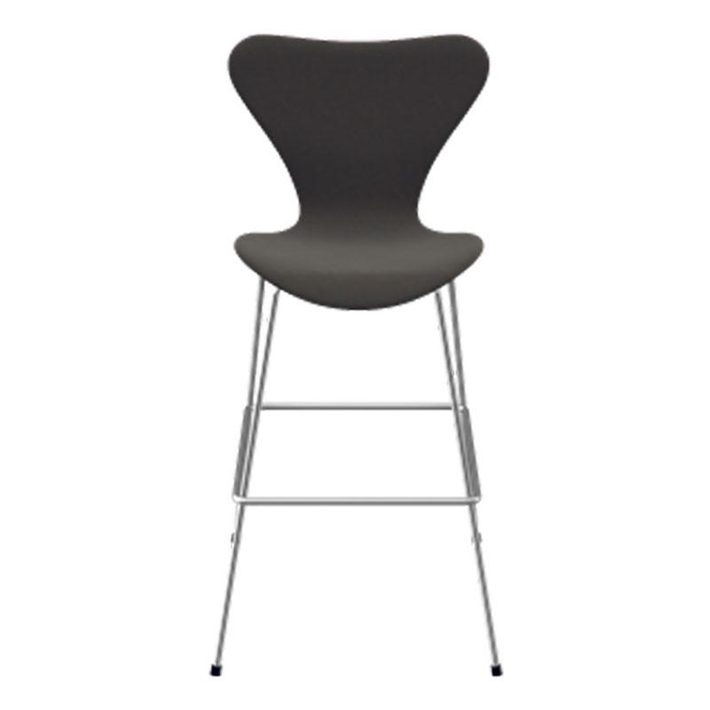 Fritz hansen serie 7 høj barstol fuldpolstret