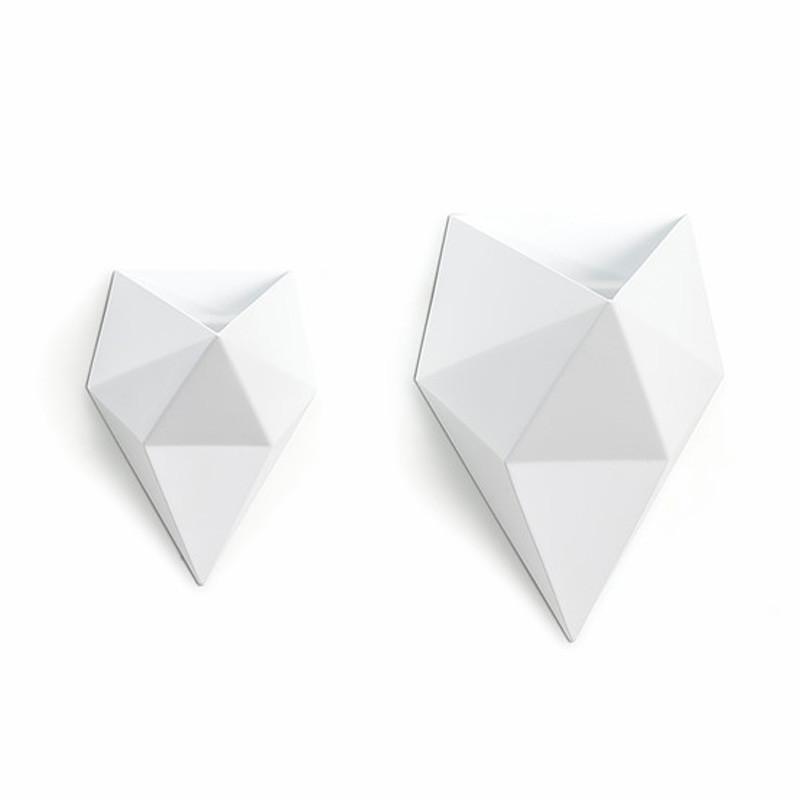 Sinoq crate vase hvid