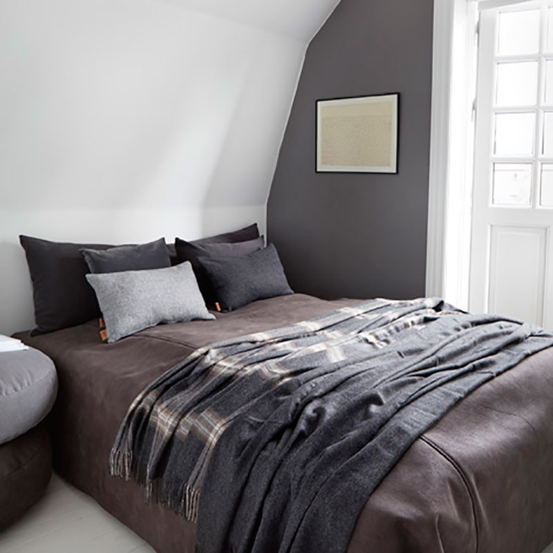 Image of   Skriver Collection Boxter Bedspreads Brun/Grå