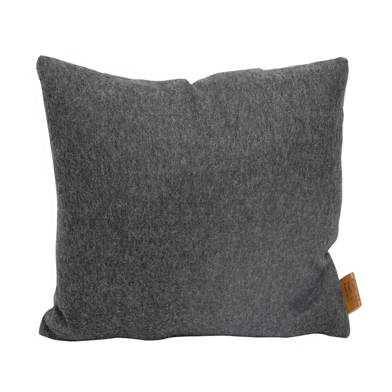 Image of   Skriver Collection Baby Alpaca Cushion Grey