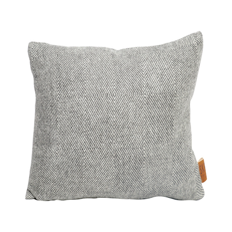 Image of   Skriver Collection Baby Alpaca Cushion Herringbone
