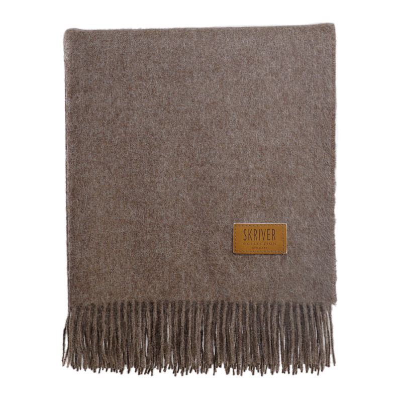 Image of   Skriver Collection Baby Alpaca Plaid Brown