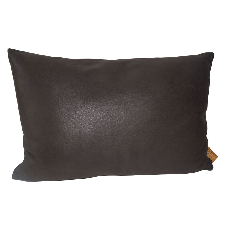 Image of   Skriver Collection Boxter Cushion Dark Brown