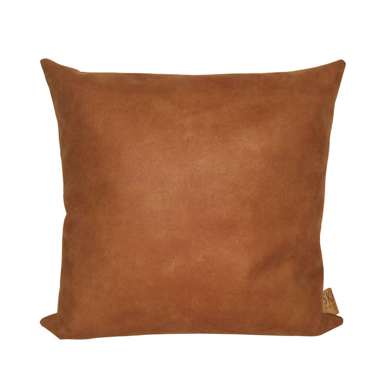 Image of   Skriver Collection Boxter Cushion Cognac