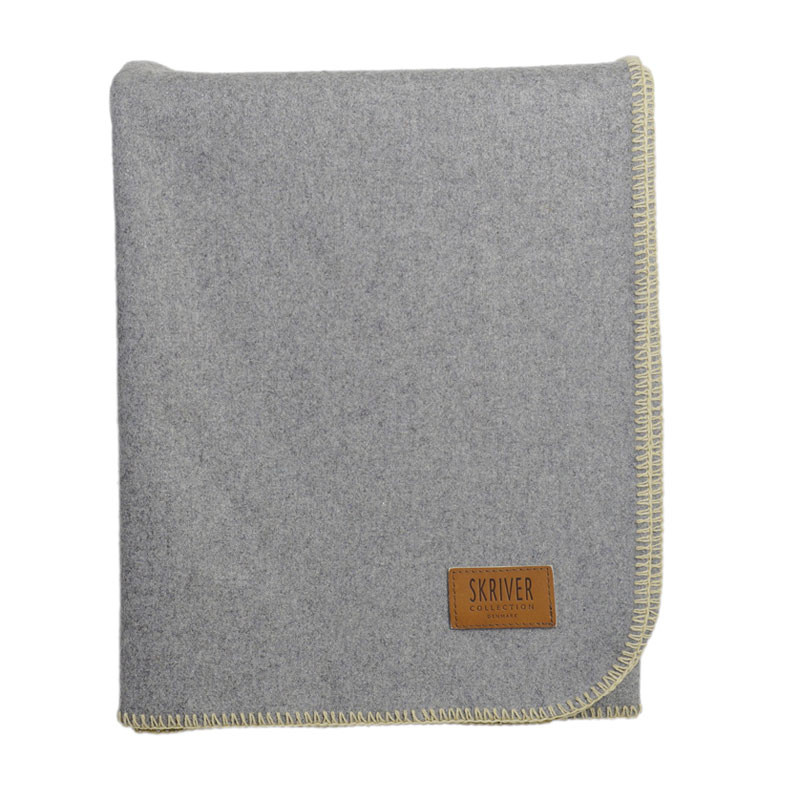 Image of   Skriver Collection Wool Plaid Light Grey