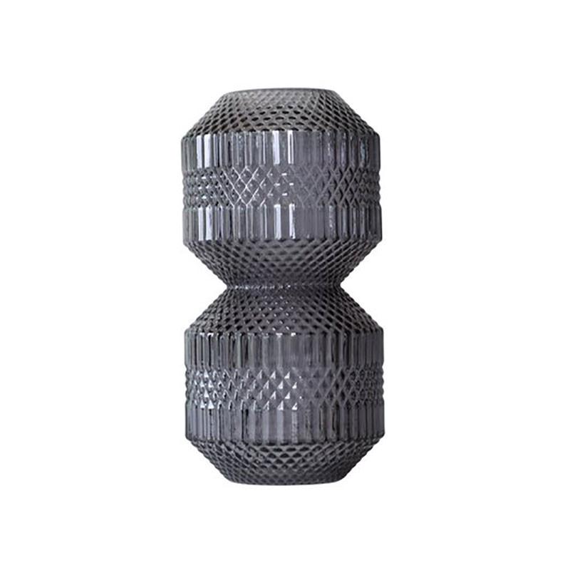 Image of   Specktrum Roaring Vase Stacked Grey