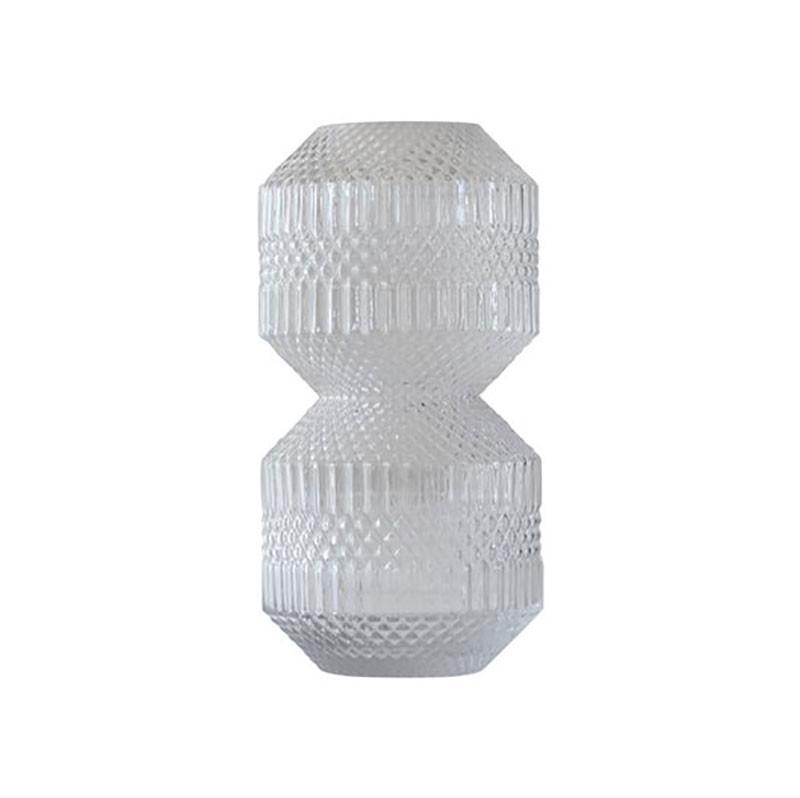 Image of   Specktrum Roaring Vase Stacked Clear