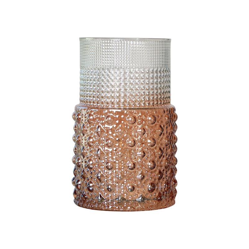 Image of   Specktrum Scarlett Vase Clear/Amber
