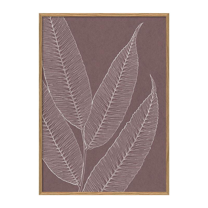 The dybdahl co. ferns #7221 plakat