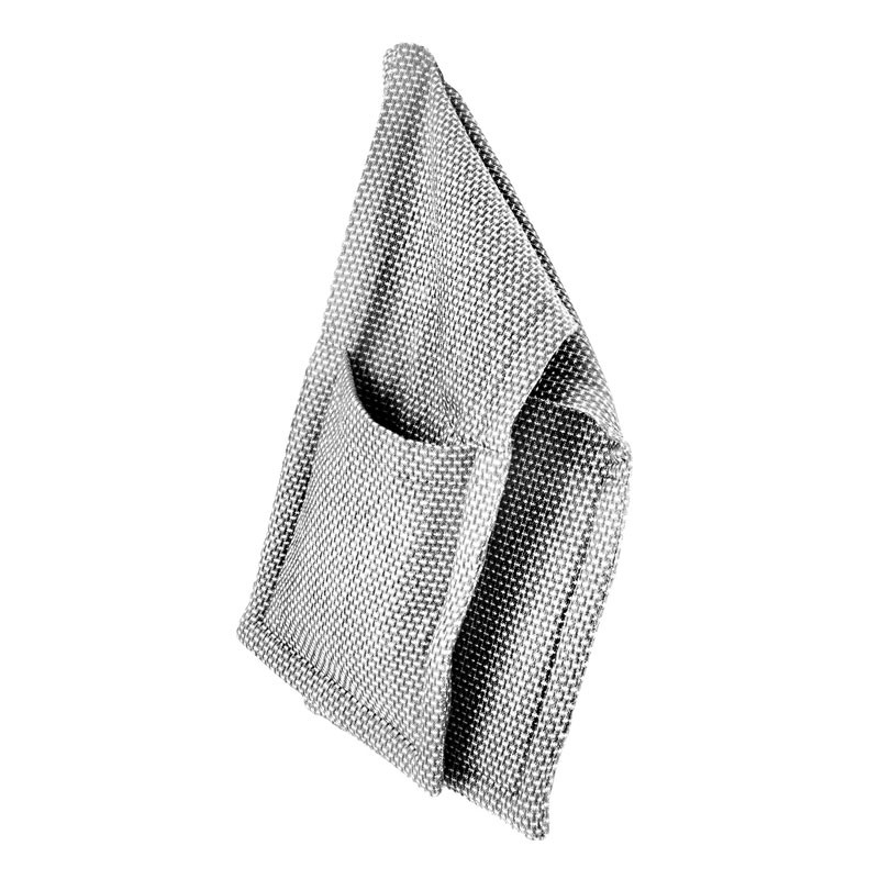 The organic company oven gloves light grey