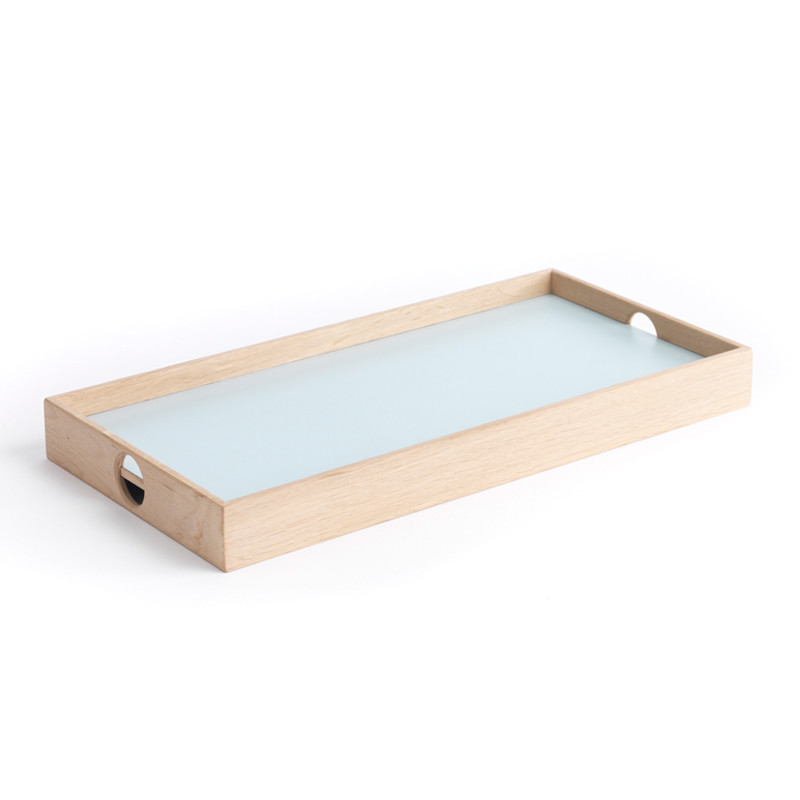 Image of   The Oak Men Flip Tray Small Light blue/Dark grey