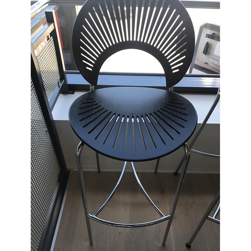 Image of   Fredericia Furniture Barstol Krom Udstillingsmodel