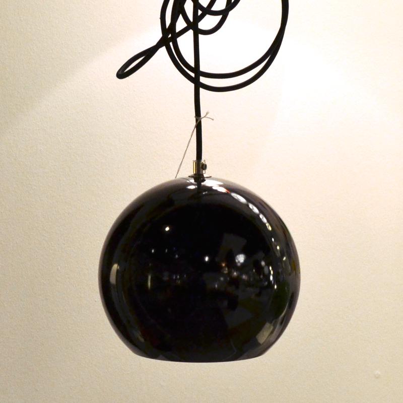 Image of   Verner Panton Topan VP6 Black Udstillingsmodel