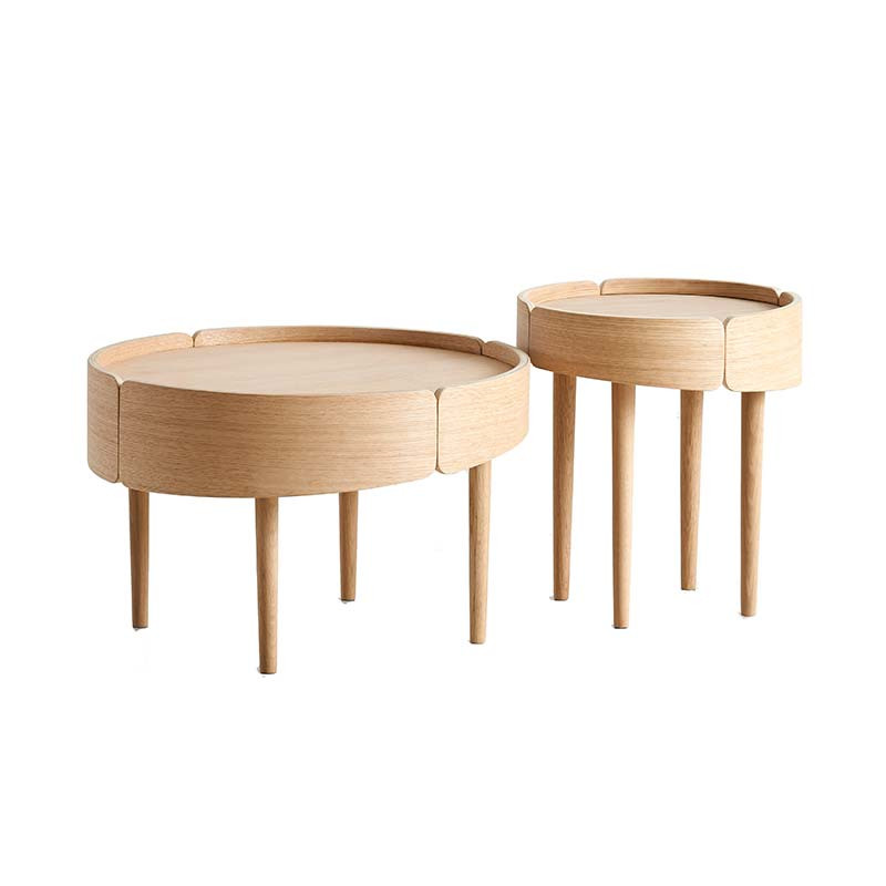 Woud Woud skirt coffee table fra livingshop