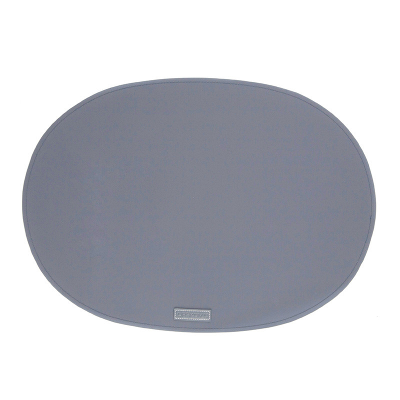 Image of   Ørskov & Co. Rubber Placemat Oval Antracit Grey
