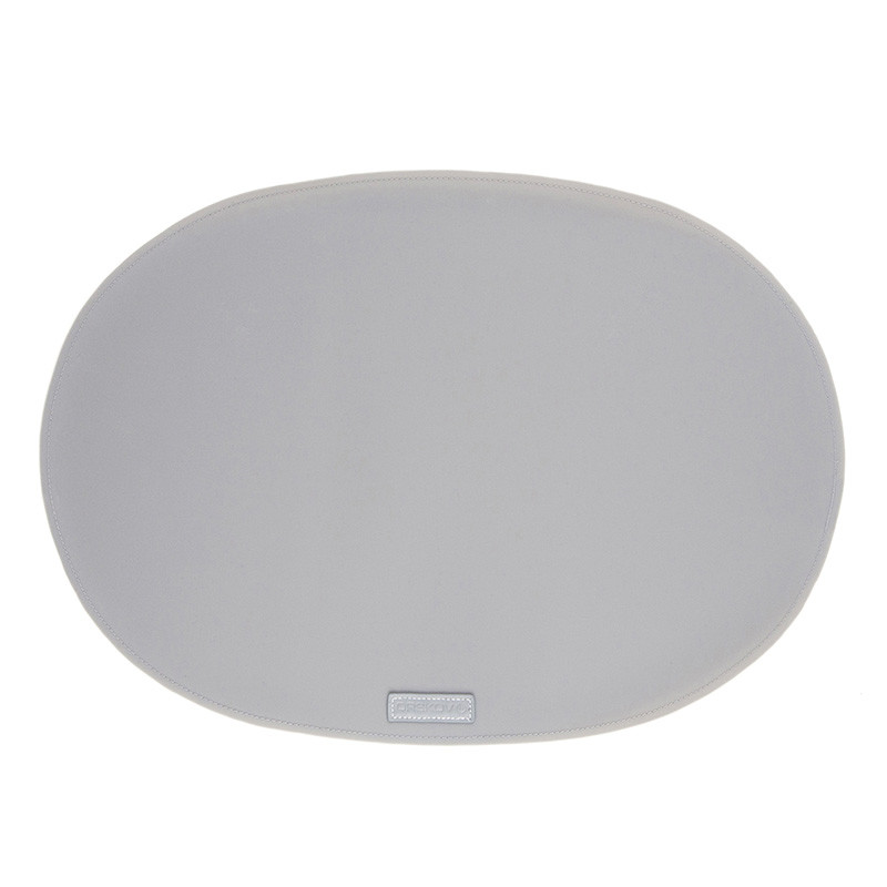 Image of   Ørskov & Co. Rubber Placemat Oval Light Grey
