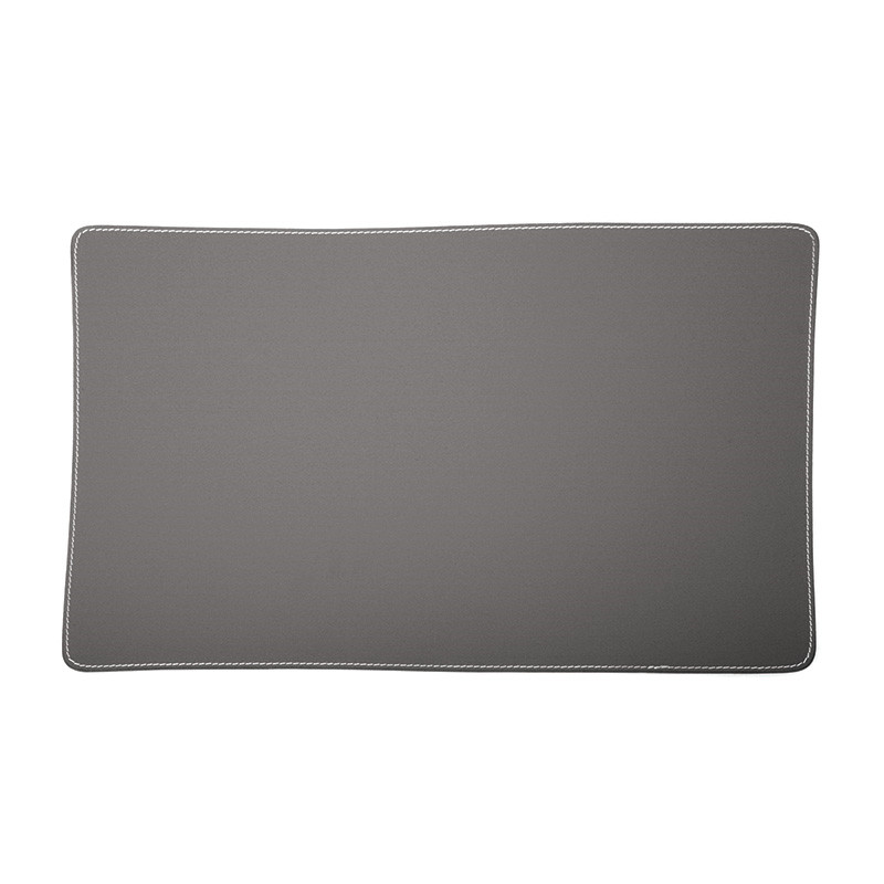 Image of   Ørskov & Co. Leather Placemat Square Dark Grey