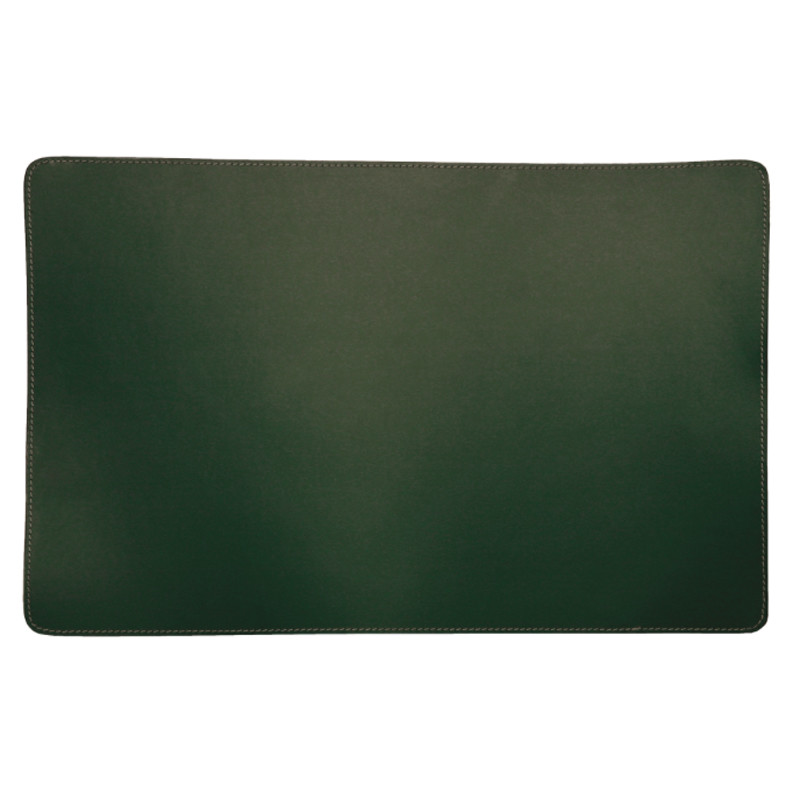 Image of   Ørskov & Co. Leather Placemat Square Green