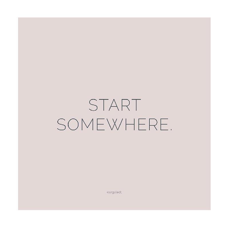 Wargstedt – Wargstedt nude pink plakat på livingshop