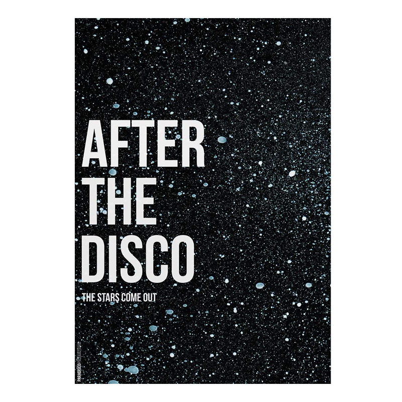 Paradisco productions after the disco plakat fra Paradisco productions fra livingshop