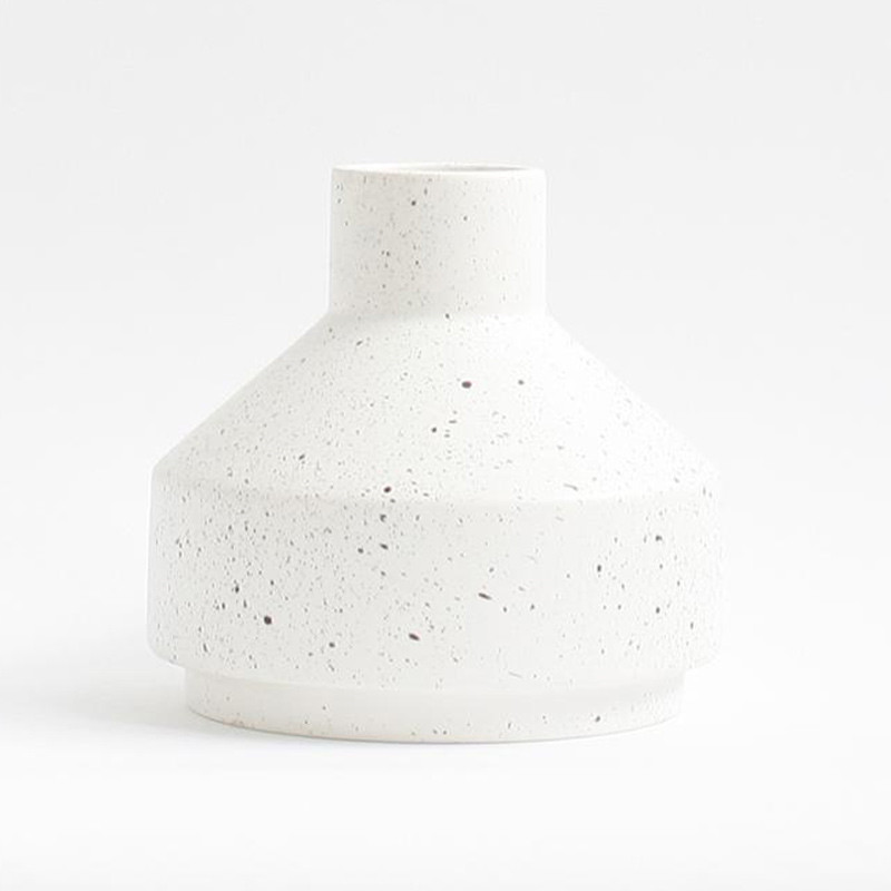 Image of   Ania EMMA Vase White Dots