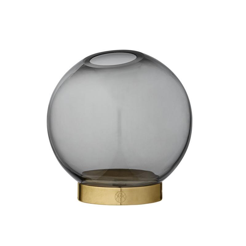 Image of   AYTM Globe Vase Black