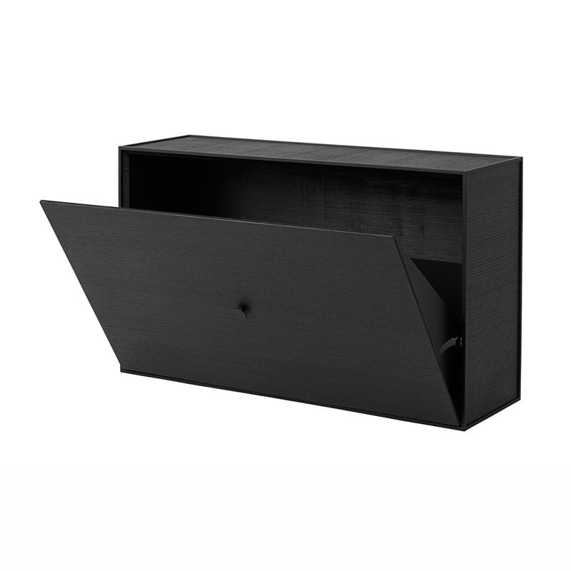 By Lassen Frame Shoe Cabinet Sort fra By Lassen