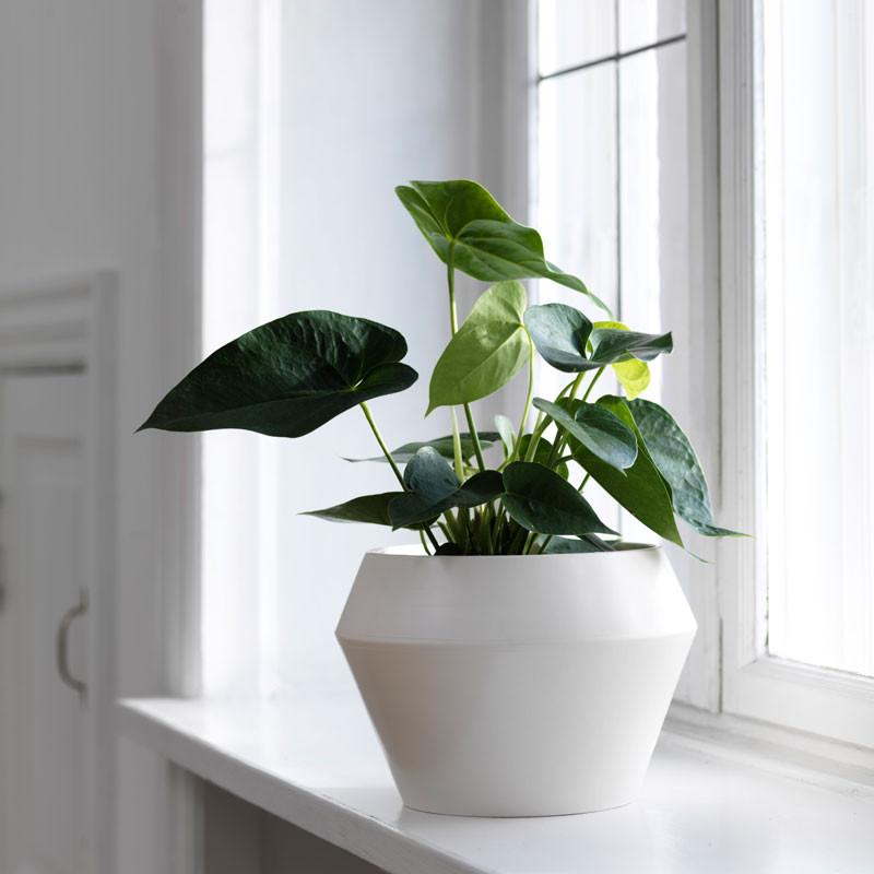 Image of   By Lassen Rimm Flowerpot Hvid