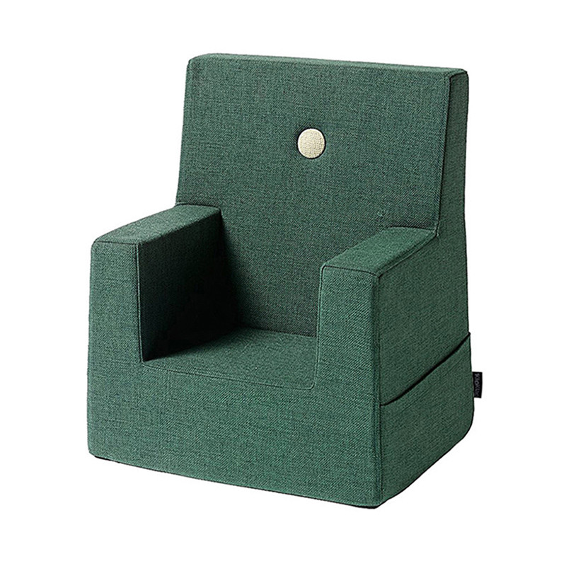 By KlipKlap Kids Chair Deep Green W. Light Green fra Klipklap